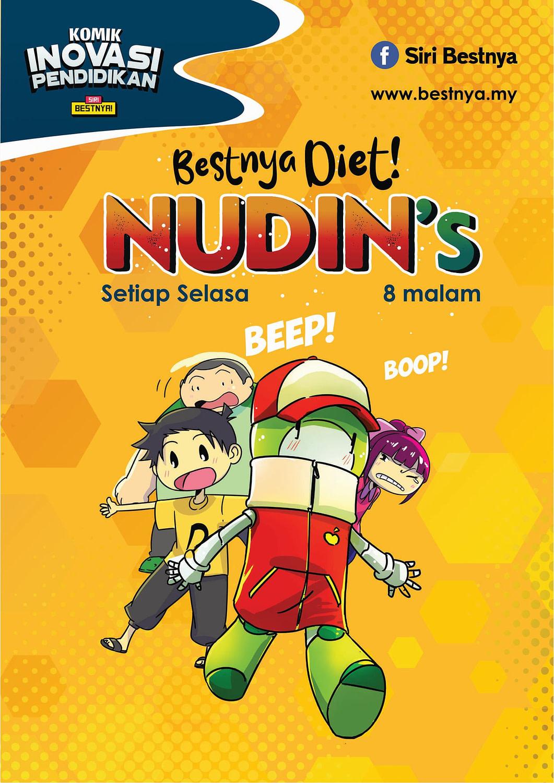 Muka depan komik Bestnya Diet! NUDIN's