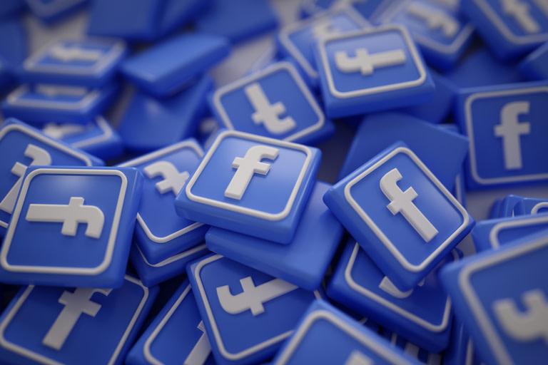 Gambar logo media sosial Facebook